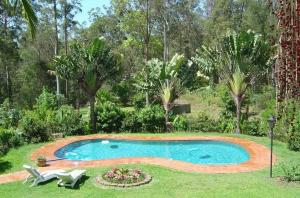 The swimming pool at or near Riviera Bed & Breakfast