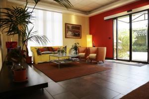 Area soggiorno di Hotel Regio