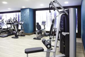 The fitness center and/or fitness facilities at Novotel London Brentford