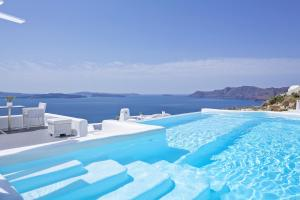 The swimming pool at or near Canaves Oia Boutique Hotel