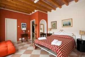 A bed or beds in a room at Barchi Resort