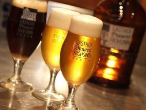 Getränke in der Unterkunft Hotel Brauerei Frohsinn