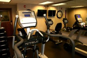 The fitness center and/or fitness facilities at Carpenter Street Hotel