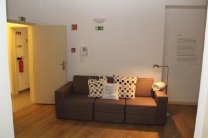 Uma área de estar em StayInn City - Évora