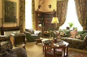 A seating area at Ballyduff House