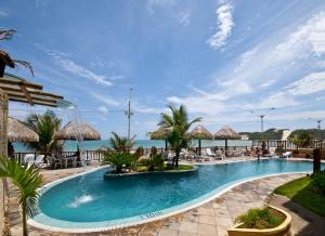 The swimming pool at or near Visual Praia Hotel