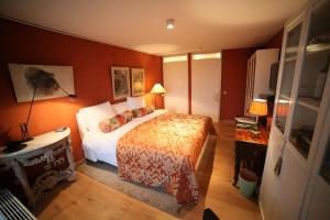 A bed or beds in a room at B&B de singel