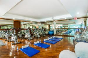 Gimnasio o instalaciones de fitness de Hotel Almirante Cartagena Colombia