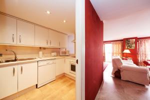 Cucina o angolo cottura di Las Casas de Moratin