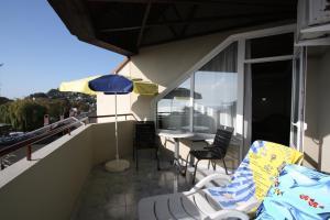 Балкон или терраса в Отель ВВВ