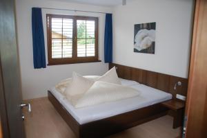 Ein Bett oder Betten in einem Zimmer der Unterkunft Apart Acasa