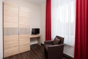 Ein Sitzbereich in der Unterkunft Hotel Südlohner Hof - Ristorante Da Fabio