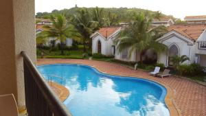 A view of the pool at Casa Legend Villa & Apartments Arpora - Baga - Goa or nearby