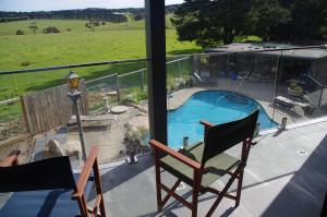 A view of the pool at The View on Grossmans or nearby