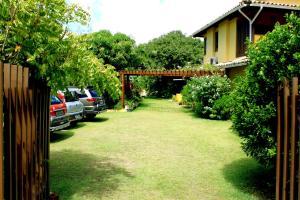 A garden outside Madalena Apart