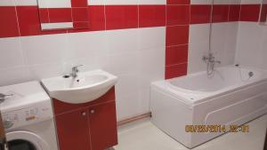 A bathroom at E&F ApartHotel