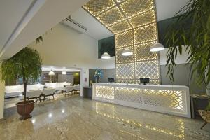 The lobby or reception area at Nord Luxxor Cabo Branco
