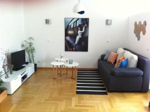 Телевизор и/или развлекательный центр в Apartment Fedja