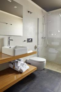A bathroom at Hotel Rural Gaintza