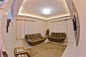 Uma área de estar em North Hotel - O mais próximo do Aeroporto de Chapecó