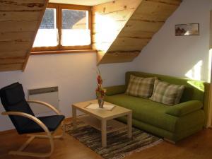 Posezení v ubytování Apartmány MarAqua