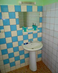 A bathroom at Hotel Kavana