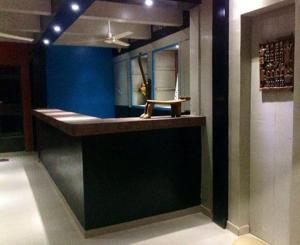 The lobby or reception area at Hotel Kavana
