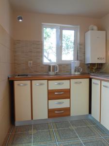 O bucătărie sau chicinetă la Apartament Teri