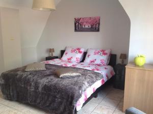 Ein Bett oder Betten in einem Zimmer der Unterkunft Holiday Home 't Beertje