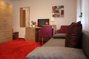 Гостиная зона в Hotel Zum kühlen Grunde