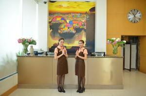 Staff members at Abloom Exclusive Serviced Apartments