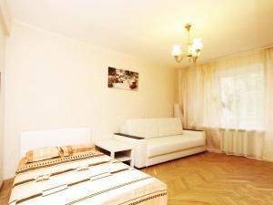 Гостиная зона в ApartLux Красносельская