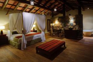 Una habitación de Loi Suites Iguazu Hotel