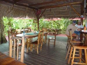 Restaurant ou autre lieu de restauration dans l'établissement Hotel Casa Perico
