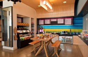 A restaurant or other place to eat at Aloft Houston by the Galleria