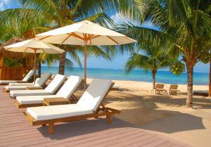 Der Swimmingpool an oder in der Nähe von Secrets Aura Cozumel - Adults Only