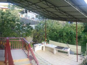 Балкон или терраса в Гостевой Дом на Каспийской