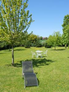 A garden outside Au Coeur d'Origny