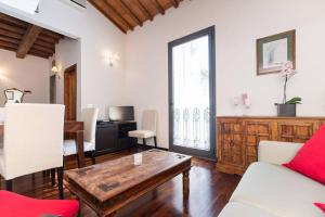 A seating area at Apartment Cuore di Firenze