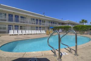 The swimming pool at or near Motel 6-Las Vegas, NV - Boulder Hwy