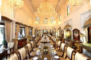 A restaurant or other place to eat at The Raj Palace (Small Luxury Hotels of the World)