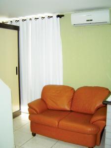 A seating area at Studio Brasília