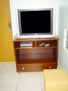 A television and/or entertainment center at Studio Brasília