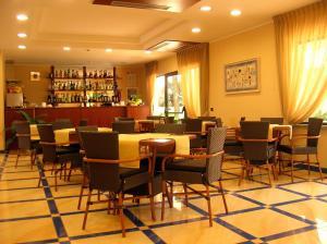 Salone o bar di Hotel Albatros