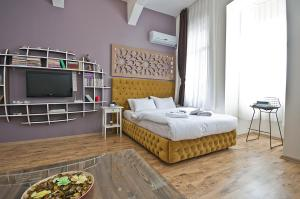 A bed or beds in a room at Cumbalı 27