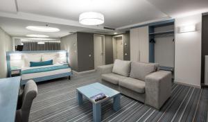 A room at Atlantic Garden Resort