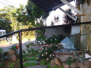 A patio or other outdoor area at Hostel Thiany