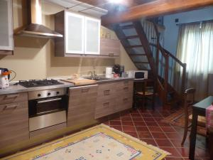 Cucina o angolo cottura di Villa Crissante