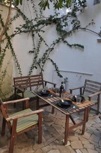Restaurant ou autre lieu de restauration dans l'établissement Casadiclaudia