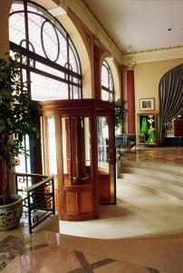 The lobby or reception area at Hôtel Aletti Palace